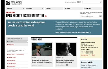 http://www.opensocietyfoundations.org/about/programs/open-society-justice-initiative