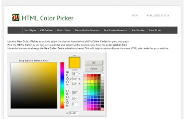 http://www.webtutorialplus.com/html-color-picker.aspx