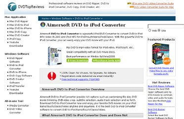 http://www.dvdtopreviews.com/dvd-to-ipod-converter-review-windows/aimersoft-dvd-to-ipod-converter.html