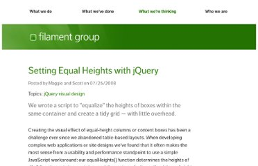 http://www.filamentgroup.com/lab/setting_equal_heights_with_jquery/