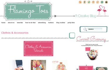 http://www.flamingotoes.com/tutorials-2/clothes-accessories/