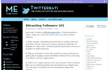 http://www.twitterrati.com/2008/11/17/attracting-followers-101/
