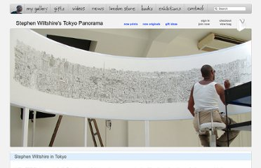 http://www.stephenwiltshire.co.uk/Tokyo_Panorama_by_Stephen_Wiltshire.aspx