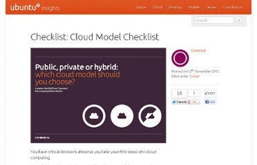 http://insights.ubuntu.com/checklist/cloud-model-checklist/?utm_source=twitter&utm_medium=status&utm_campaign=blog_promo