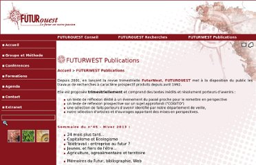 http://www.futurouest.com/index.php?rub=futurwest_publications