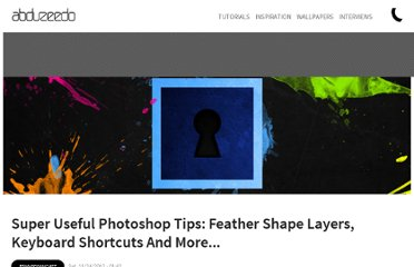http://abduzeedo.com/super-useful-photoshop-tips-feather-shape-layers-keyboard-shortcuts-and-more
