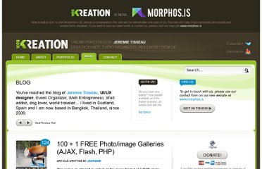http://web-kreation.com/all/101-free-photo-image-galleries-ajax-flash-php/