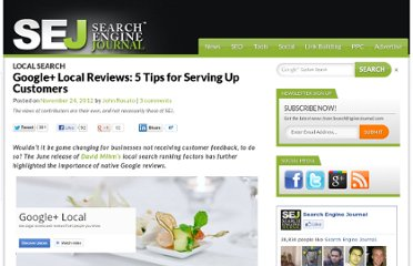 http://www.searchenginejournal.com/google-plus-local-reviews/52689/