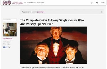 http://io9.com/5962840/the-complete-guide-to-every-single-doctor-who-anniversary-special-ever