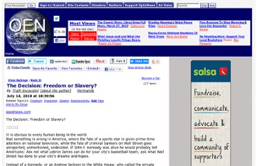 http://www.opednews.com/Diary/The-Decision-Freedom-or-S-by-Truth-Excavator-100714-52.html