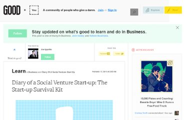 http://good.is/posts/diary-of-a-social-venture-start-up-the-start-up-survival-kit