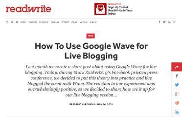 http://readwrite.com/2010/05/26/how_to_use_google_wave_for_live_blogging