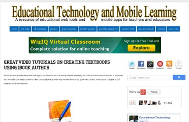 http://www.educatorstechnology.com/2012/11/great-video-tutorials-on-creating.html