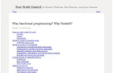 http://book.realworldhaskell.org/read/why-functional-programming-why-haskell.html