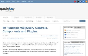 http://speckyboy.com/2010/05/13/50-fundamental-jquery-controls-and-rich-ui-components/