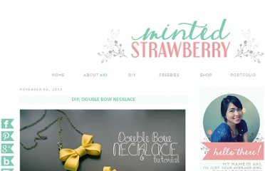 http://mintedstrawberry.blogspot.com/2012/11/diy-double-bow-necklace.html