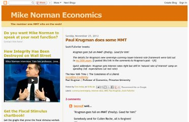 http://mikenormaneconomics.blogspot.com/2012/11/paul-krugman-does-some-mmt.html