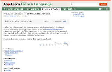 http://french.about.com/od/lessons/ss/learnfrench.htm