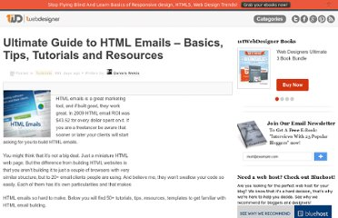 http://www.1stwebdesigner.com/tutorials/ultimate-guide-html-emails/