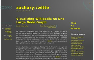 http://www.zacwitte.com/visualizing-wikipedia