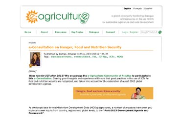 http://www.e-agriculture.org/news/e-consultation-hunger-food-and-nutrition-security