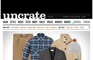 http://uncrate.com/stuff/garb-lined-out/