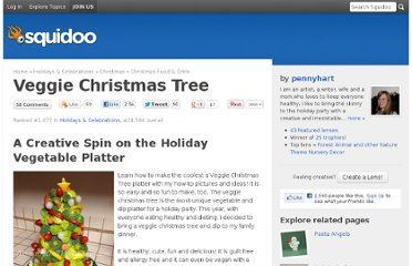 http://www.squidoo.com/veggie-christmas-tree