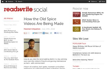 http://readwrite.com/2010/07/14/how_old_spice_won_the_internet