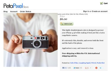 http://store.petapixel.com/leica-look-alike-skin-for-the-iphone-4-4s/