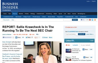 http://www.businessinsider.com/sallie-krawcheck-2012-11