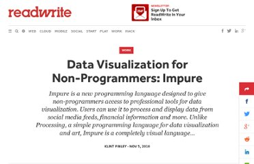 http://readwrite.com/2010/11/05/impure-data-visualization