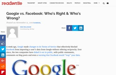 http://readwrite.com/2010/11/11/google_vs_facebook_the_battle_over_your_data