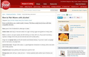 http://www.foodnetwork.com/recipes-and-cooking/how-to-pair-mixers-with-alcohol/index.html