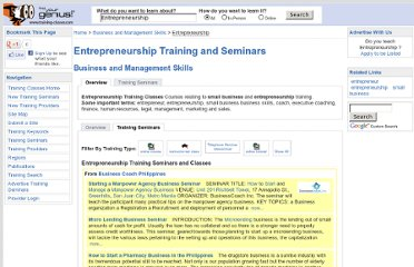 http://www.training-classes.com/course_hierarchy/Business_and_Management_Skills/Entrepreneurship/