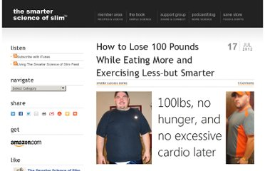 http://thesmarterscienceofslim.com/how-to-lose-100-pounds/