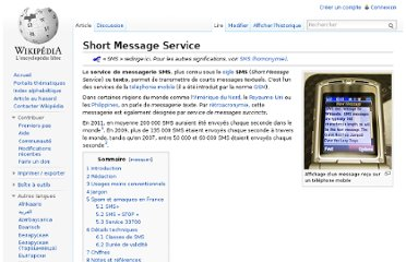 http://fr.wikipedia.org/wiki/Short_Message_Service