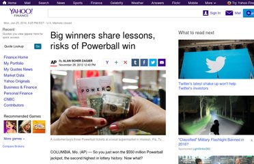 http://finance.yahoo.com/news/big-winners-share-lessons-risks-powerball-win-081059542.html