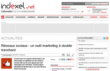 http://www.indexel.net/actualites/reseaux-sociaux-un-outil-marketing-a-double-tranchant-3696.html