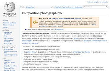 http://fr.wikipedia.org/wiki/Composition_photographique