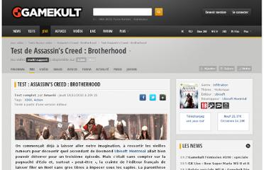 http://www.gamekult.com/jeux/test-assassins-creed-brotherhood-SU3010007393t.html