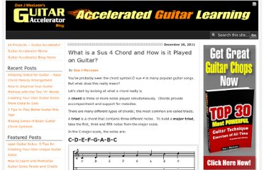 http://guitaraccelerator.com/blog/guitar-theory/what-is-a-sus-4-chord-and-how-is-it-played-on-guitar/