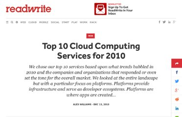 http://readwrite.com/2010/12/13/top-10-cloud-computing-services-for-2010