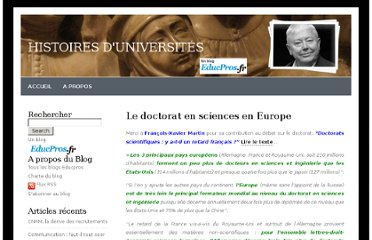 http://blog.educpros.fr/pierredubois/2012/11/25/le-doctorat-en-sciences-en-europe/