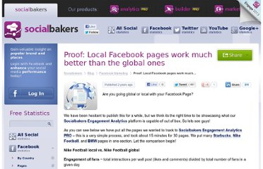 http://www.socialbakers.com/blog/136-proof-local-facebook-pages-work-much-better-than-the-global-ones