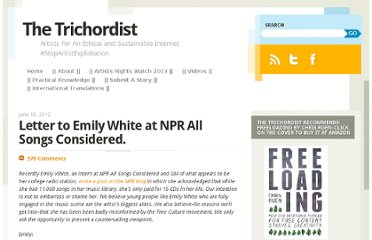 http://thetrichordist.com/2012/06/18/letter-to-emily-white-at-npr-all-songs-considered/