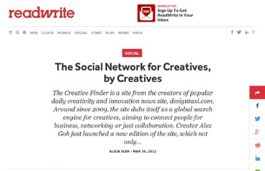 http://readwrite.com/2012/03/30/the_social_network_for_creatives_by_creatives