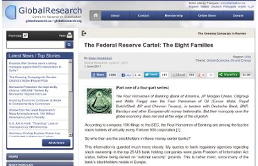 http://www.globalresearch.ca/the-federal-reserve-cartel-the-eight-families/25080