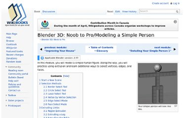 http://en.wikibooks.org/wiki/Blender_3D:_Noob_to_Pro/Modeling_a_Simple_Person