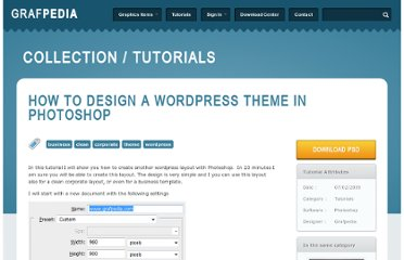 http://grafpedia.com/tutorials/design-wordpress-theme-photoshop