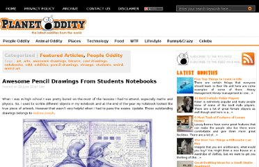 http://planetoddity.com/awesome-pencil-drawings-from-students-notebooks/